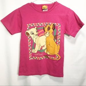 Disney Vintage Lion King Nala Simba Cubs T-Shirt